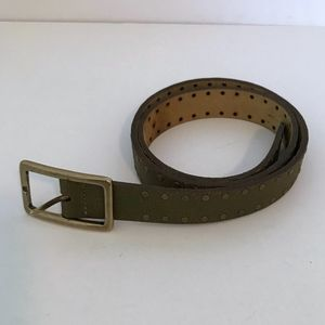 Banana Republic Leather Studded Belt